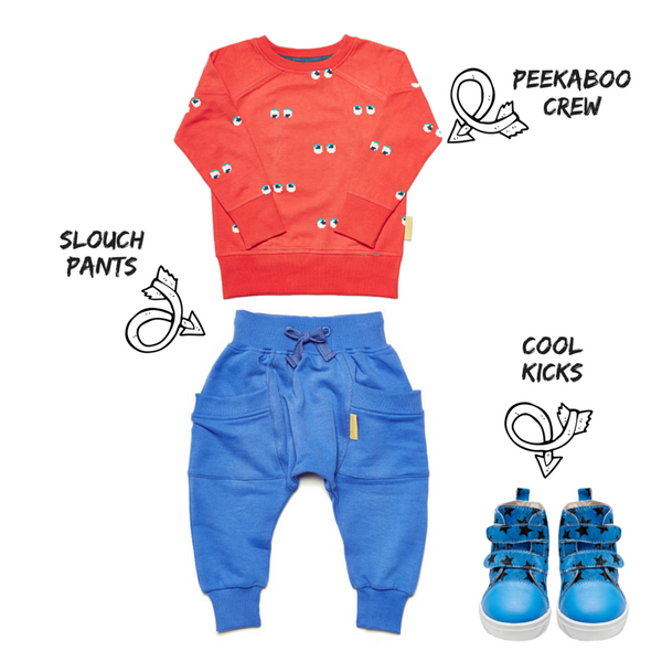 #peekaboo outfit inspiration from Boys&Girls and Love Luck & Wonder at Small to TALL
