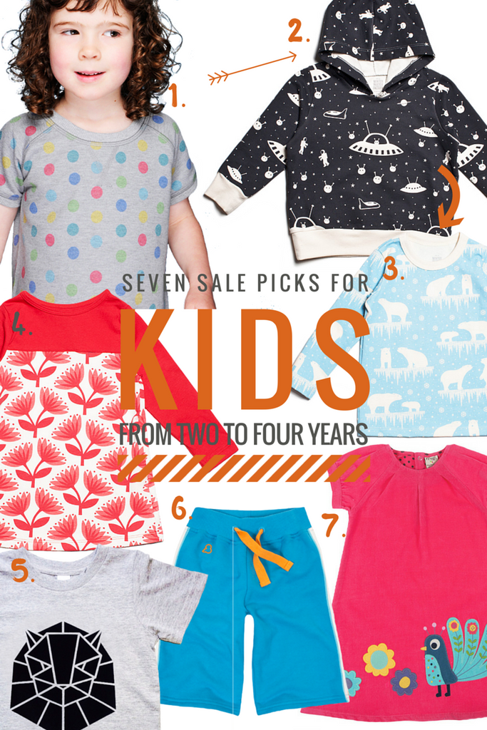 Our favourite sale picks for kids aged two to four years