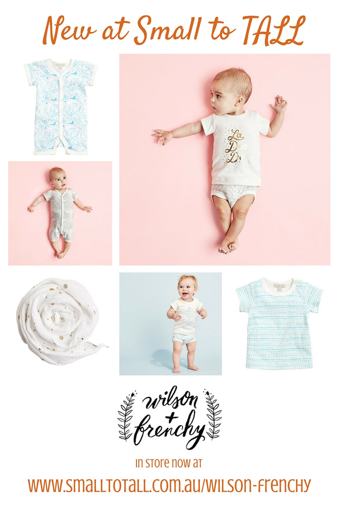 The new summer collection by Wilson & Frenchy at Small to TALL