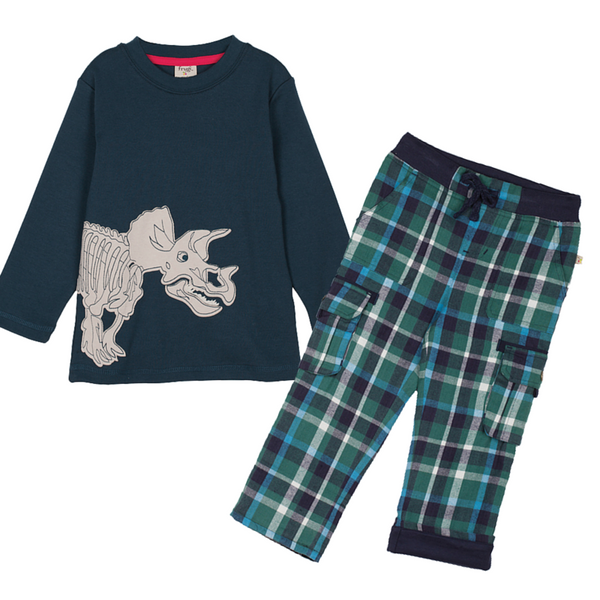 #dinoroar outfit inspiration by Frugi Organic Clothes at Small to TALL