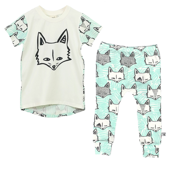 #foxyfun in Milk and Masuki's hit print this summer