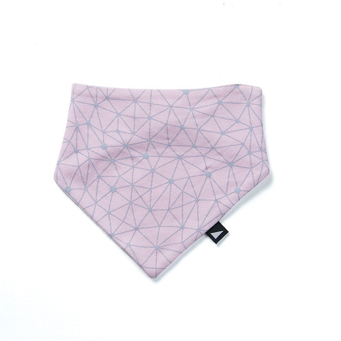 Anarkid Organic's cool Galaxy Bibdana in Pink available at Small to TALL