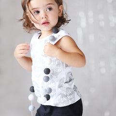 On with the show in Anarkid Organic's stunning ballon singlet from the SS15 collection at Small to TALL.