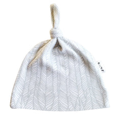 The Anarkid Feather Beanie in Grey