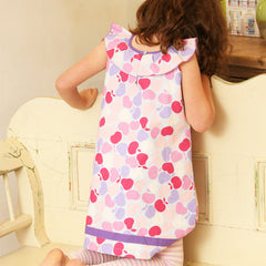 The Betsy Frill Tunic Dress by UK kids' label Piccalilly at Small to TALL