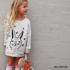 Team the Milk and Masuki Jumper Dress with socks, tights or leggings for a super easy to wear winter look.