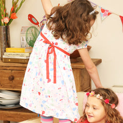 The Maisie dress by UK kids' label Piccalilly at Small to TALL