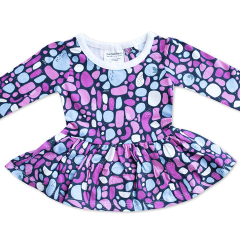 Mosaic in Pink Baby Dress