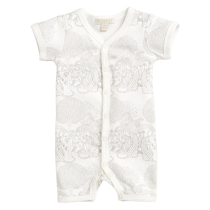 Wilson & Frenchy Into the Wild baby growsuit available at Small to TALL