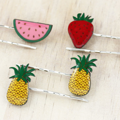 Fruity hairclips by Bok Bok B'Gerk at Small to TALL