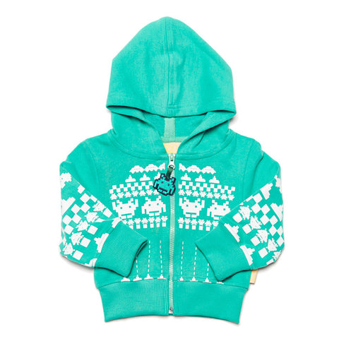 Boys&Girls Space Argyle Baby Hoodie