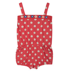 Festival Jumpsuit - Washed Red Spot