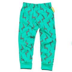 Green lightning leggings by London kids' label Boys&Girls available at Small to TALL