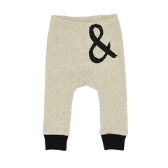 The Milk and Masuki Ampersand Drop Crotch Pants available at Small to TALL