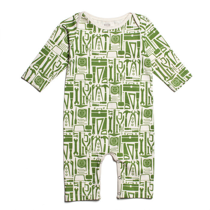 Toolkit Playsuit by Winter Water Factory at Small to TALL