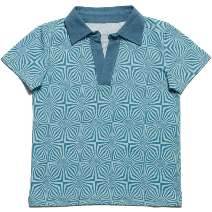 The Ziggy Polo Tee by London kids' label redurchin at Small to TALL