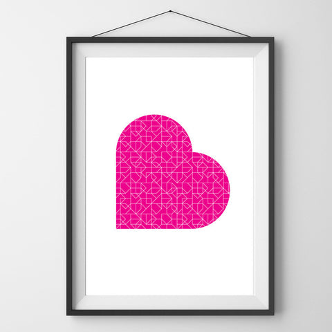Anarkid Ruby Love Print