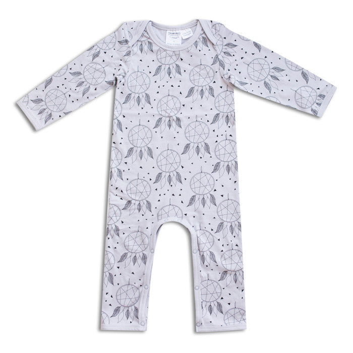 The organic cotton dream catcher romper by Joeyjellybean at Small to TALL