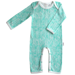 Feather Romper in mint from Australian kids' clothing label Anarkid at Small to TALL