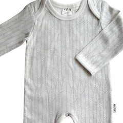 Feather Romper in ice grey from Australian kids' clothing label Anarkid at Small to TALL