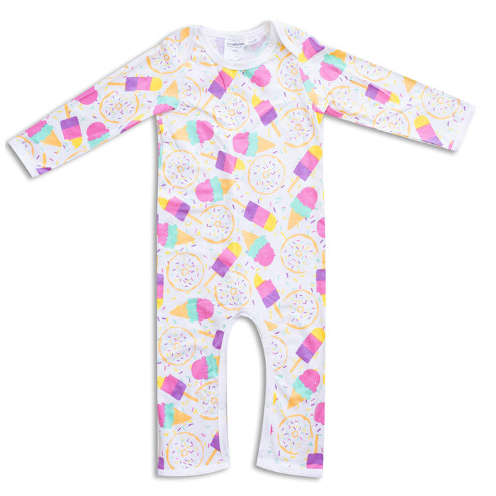 The sweet treats romper by Joeyjellybean available at Small to TALL