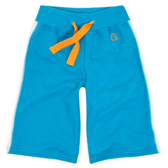 Turquoise blue skater shorts by London kids' clothing label Boys&Girls at Small to TALL
