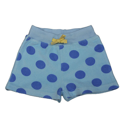 Ocean Spot Girls Shorts by Frugi at Small to TALL