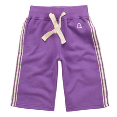 100% organic cotton purple Skate Shorts by London kids' label Boys&Girls now available at Small to TALL