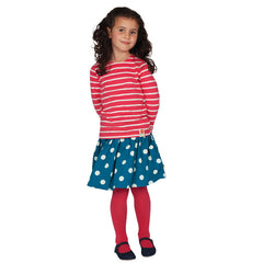 These tights look fab under skirts, dresses and shorts to keep little legs warm on cooler days.