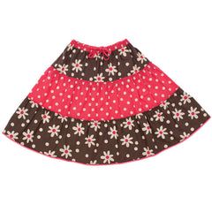 Tiered Woodland Skirt by Frugi at Small to TALL