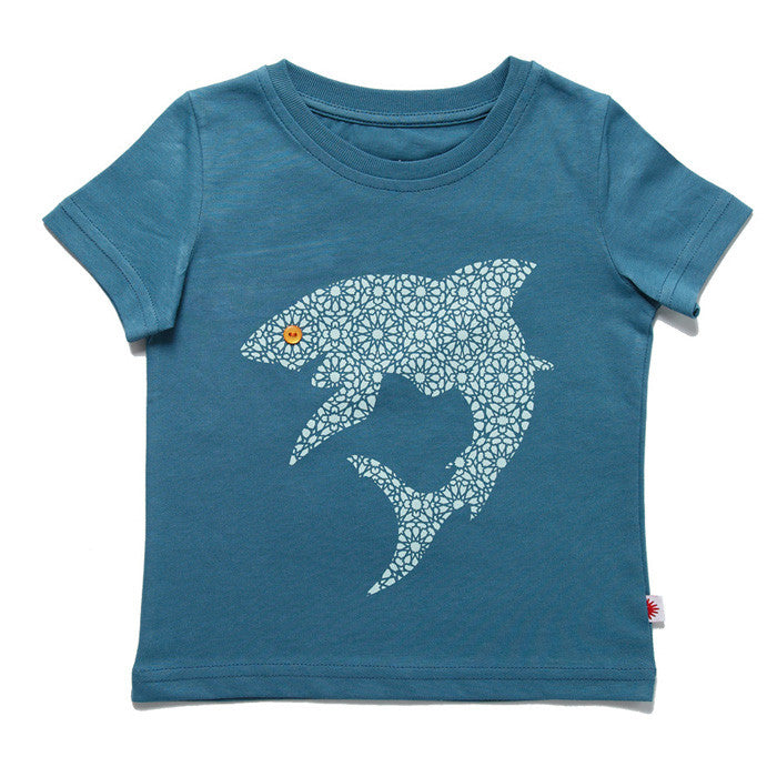 Sharky Tee by London kids' label redurchin at Small to TALL