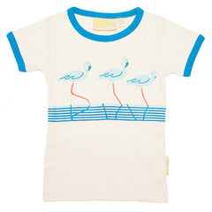 The 3 Flamingos Tee by Boys&Girls at Small to TALL