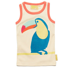 The big toucan vest top by Boys&Girls at Small to TALL