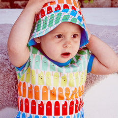 The Boys&Girls Tutti Frutti short sleeve tee is made from 100% organic cotton