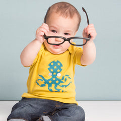 The Octopus Baby Tee by redurchin at Small to TALL