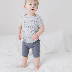 Soft organic cotton is a super comfortable choice for babies.
