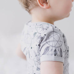 Joeyjellybean's dream catcher baby t-shirt is made from 100% organic cotton