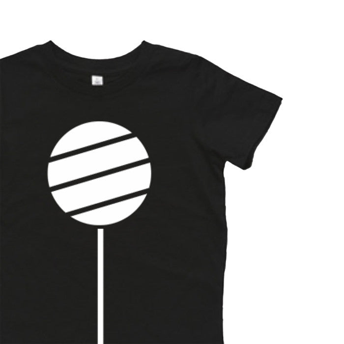 Inkibabinki's cool monochrome Lollipop Tee