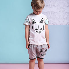 Milk and Masuki's Sly Foxes tee is a great unisex tee.
