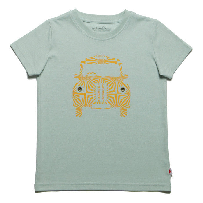 London Taxi Tee by London kids' label redurchin at Small to TALL