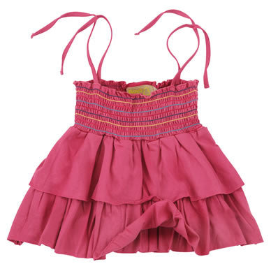 Pink Frill Cami Top fromLondon kids' clothing label Boys&Girls at Small to TALL