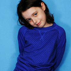 Mini Star Raglan Crew Top from London kids' clothing label Boys&Girls at Small to TALL