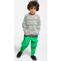 Green Pocket Harem Trousers by Boys&Girls at Small to TALL