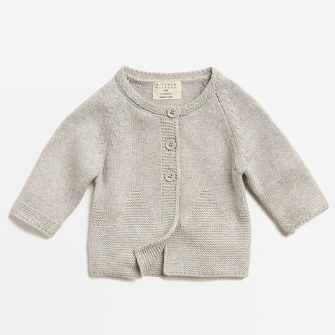 Wilson & Frenchy Mouse Grey Knitted Jacket