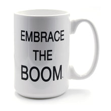 Load image into Gallery viewer, EMBRACE THE BOOM Mug - Black