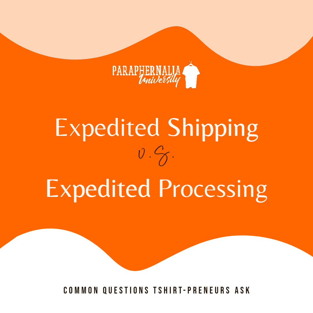 T-Shirt Business Q&A Series: Expedited Shipping vs Expedited Fulfillment