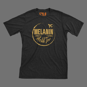 D9 Melanin World Tour Logo Tee