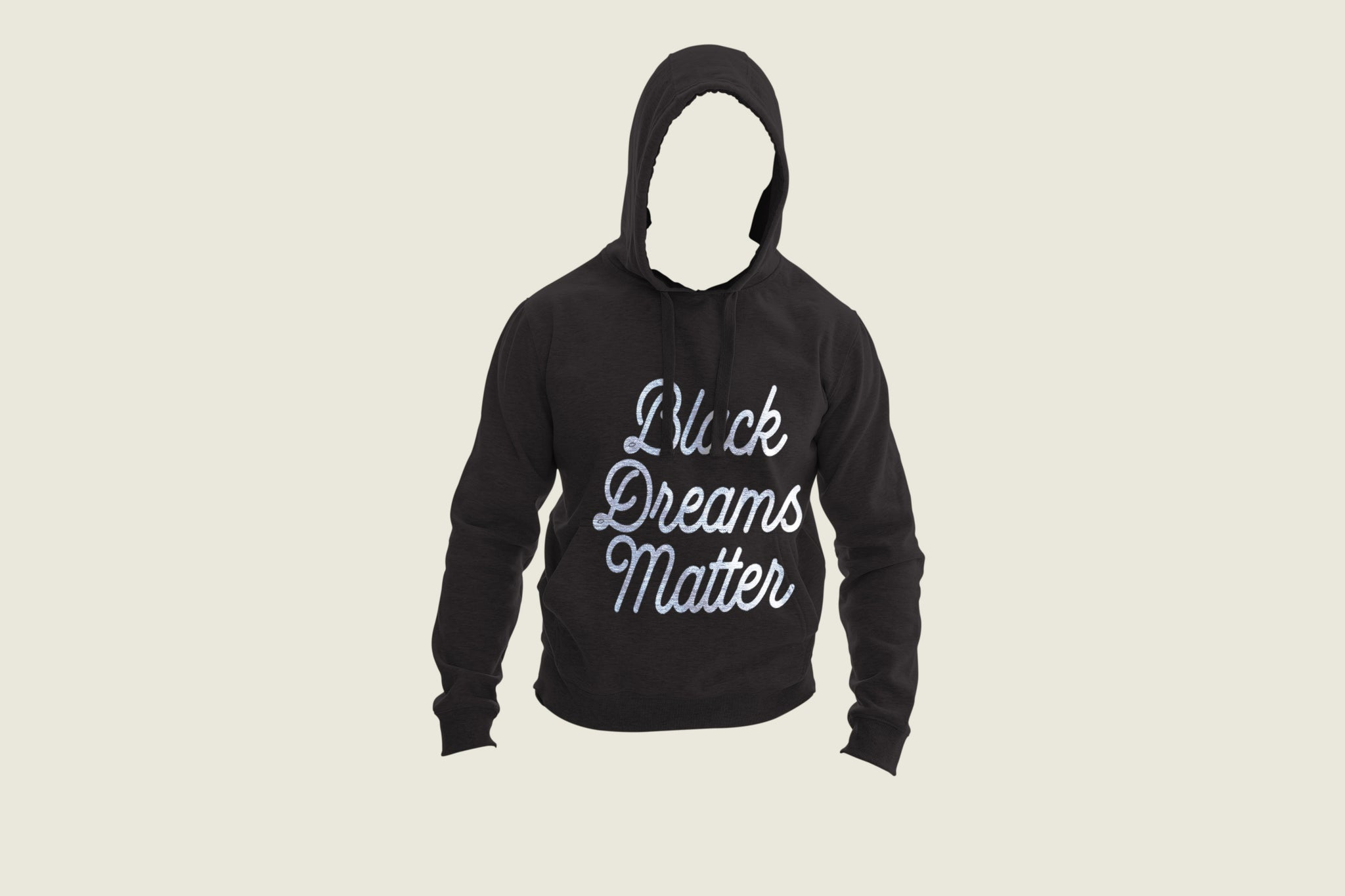 Black Dreams Matter Hoodie - Black