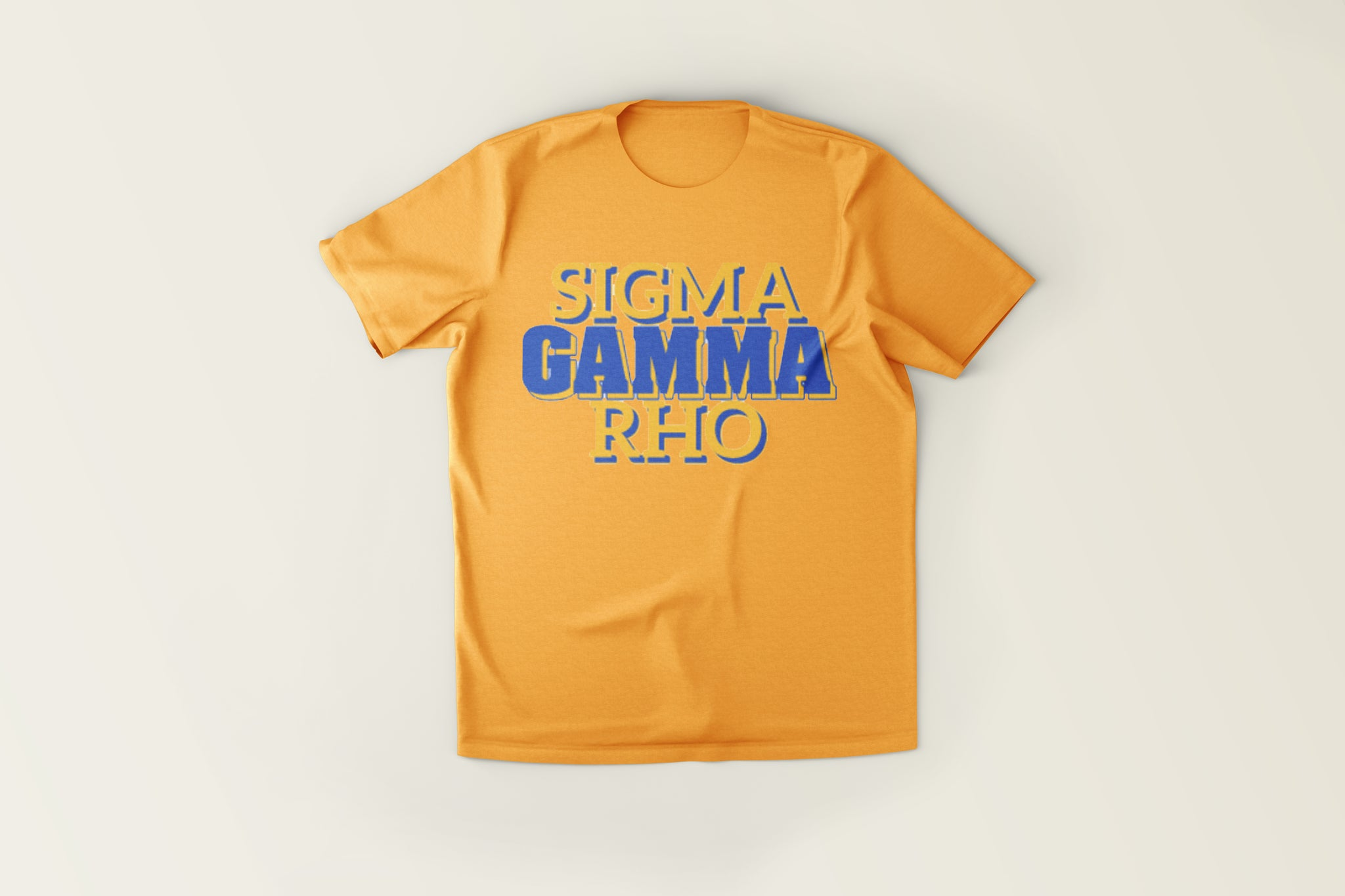 Name Block Tee - SGRho Gold