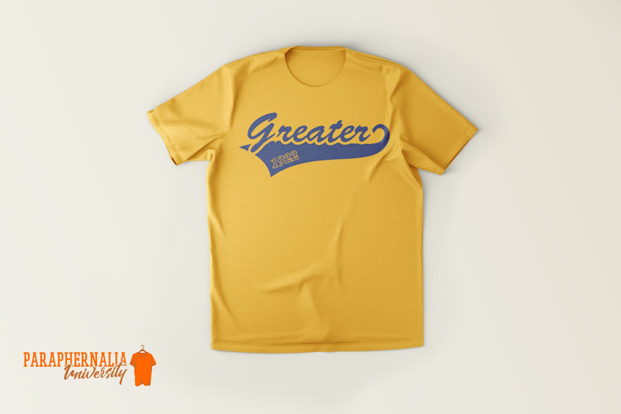Greater 1922 Tee - Gold